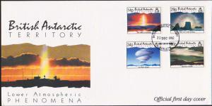 British Antarctic Territory Scott 198-201 Unaddressed.