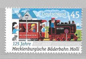 Germany 2624 125th Rail Line single MNH