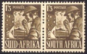 South Africa, Scott #89, Unused, Hinged pair