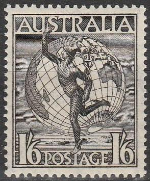 Australia #C6 F-VF Unused  (A5467)