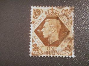 GREAT BRITAIN 1937 1d King George VI used