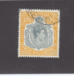 BERMUDA SG # 120e VF-KGV1 12/6d LIGHTLY USED CAT VALUE £75 or $96+