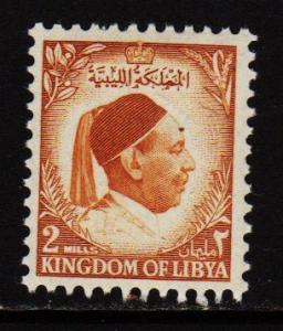 Libya - #135 King Idris - MNH