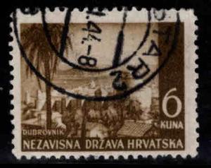 Croatia Scott 40 Used stamp