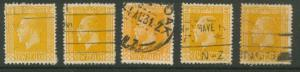 New Zealand  SG 439 Used shades unchecked