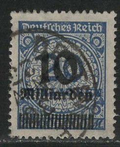Germany Reich Scott # 314, used, exp h/s