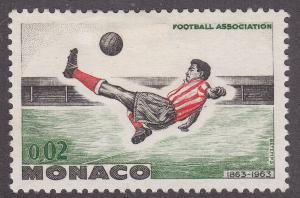 Monaco 554 Hinged 1963 British Football Association
