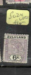 ZULULAND  (P2305B)  QV  6D  SG 24      VFU