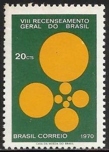 Brazil 1970 Scott# 1165 MNH