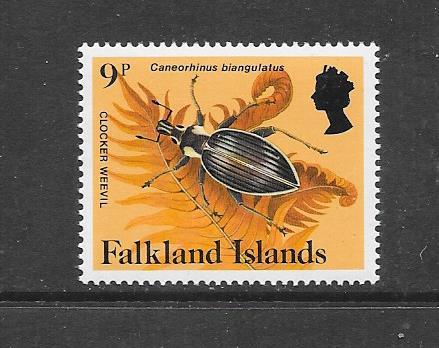 INSECTS - FALKLAND ISLANDS-#395 CLOCKER BEETLE   MNH