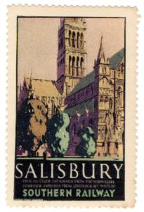 (I.B) Cinderella Collection : Resorts By Railway (Salisbury) 2nd issue
