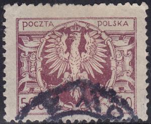 Poland 169 Polish Eagle Arms 1923 500Mk