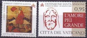 Vatican City #1582-3 MNH CV $3.85  (Z3132)