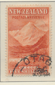 New Zealand Stamp Scott #83, Used - Free U.S. Shipping, Free Worldwide Shippi...