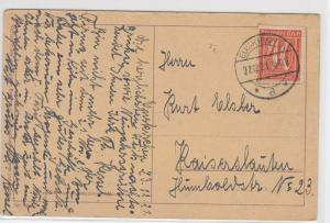 German Postal History Stamps Postcard Ref: R4944