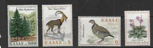 GREECE, 992-995, MNH, NATURE CONSERVATION YEAR 1970