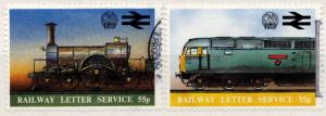 (I.B) Cinderella Collection : Great Western Railway Letter Service 55p