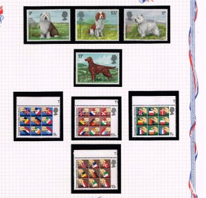 UK STAMP MNH STAMP COLLECTION LOT   #6