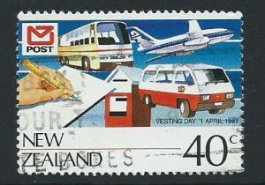 New Zealand SG 1421 VFU