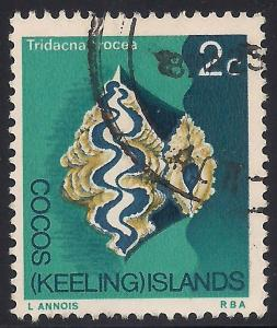 Cocos Islands 9 Used VF