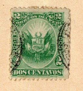 Peru 1883-84 Early Issue Fine Used 2c. NW-11821
