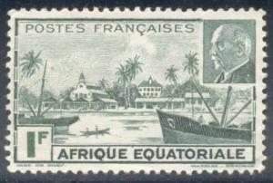 French Equatorial Africa ~ #79A ~ Libreville ~ MNG