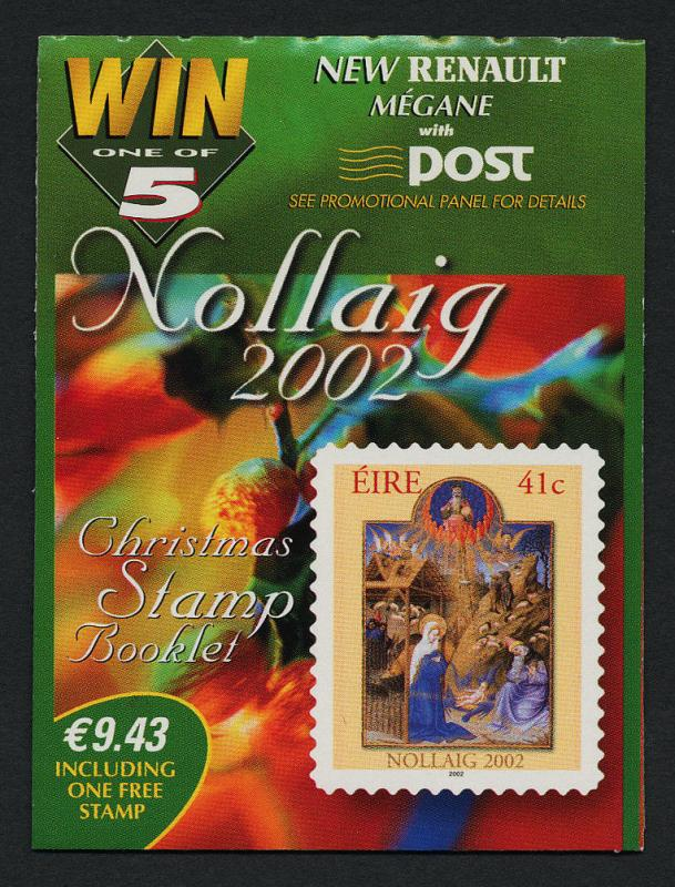 Ireland 1446a Booklet MNH Christmas
