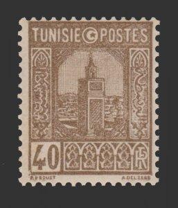 TUNISIA 1931 SCOTT # 131. UNUSED.