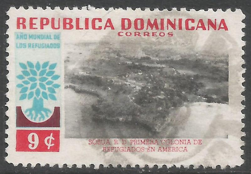 DOMINICAN REPUBLIC 523 VFU Z1136-5