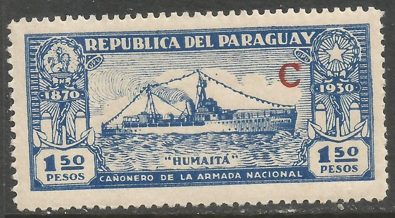 PARAGUAY L33 MOG SHIP K204-1