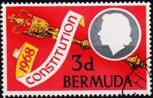 Bermuda. 1968  3d  S.G.216  Fine Used