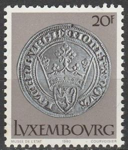 Luxembourg #638  MNH F-VF  (V3770)