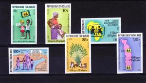 TOGO 1979 IYC  Year of Child Set (6) IMPERF.MNH Sc#1023/1028