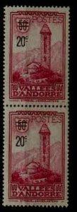 Andorra Fr. 64 unused(no gum) SCV37