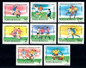 [42872] Romania 1990 Sports World cup soccer football Italy MNH