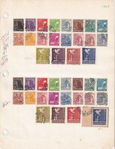 GERMANY 557//577 2 SETS CDS SOUND $168 SCV SPECIALIST COLLECTION LOT