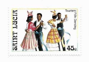 St. Lucia 1986 - MNH - Scott #863 *