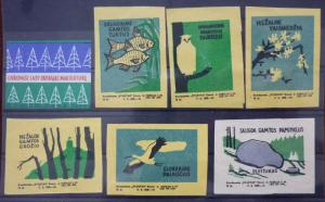 Match Box Labels! flora flower flowers nature lithuania fauna animal GJ20