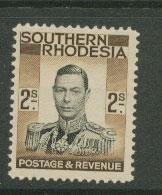 Southern Rhodesia SG 50 MLH