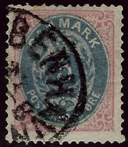 Denmark SC#27 Used F-VF Cat $72.50...steal the deal!!