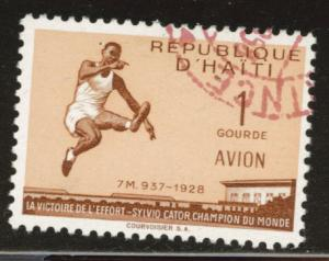 Haiti  Scott C117 Used CTO airmail stamp