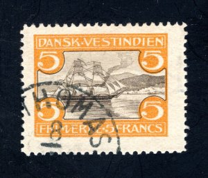 Danish West Indies #39,  VF,  Used, CV $275.00 ....1630039