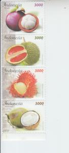 2017 Indonesia Fruit S4 (Scott NA) mnh