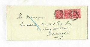 APH1492) Australia 1931 2d Red KGV Die III Cover