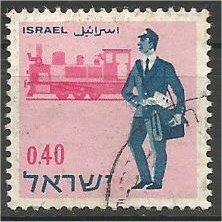 ISRAEL, 1966, used 40a Mailman Scott 331