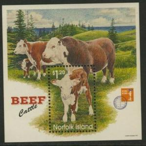 Norfolk Island 616a MNH Beef Cattle
