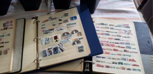 65- 70,000 used World Wide stamps