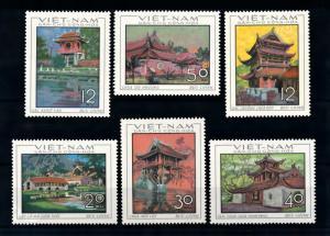 [92124] North Vietnam 1968 Traditional Houses Pagonda  MNH
