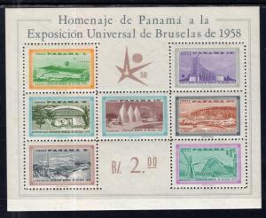 Panama C209a Souvenir Sheet MNH VF