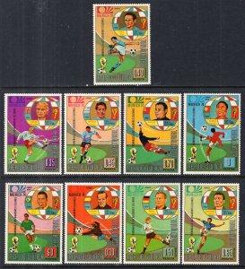 Equatorial Guinea 73122-73130 Soccer MNH VF